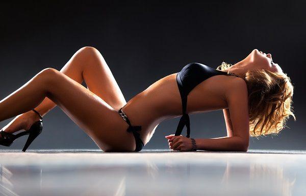 beautiful girl in erotic lingerie