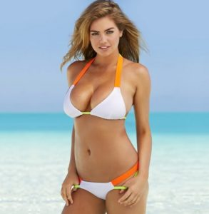 Kate Upton is busty woman