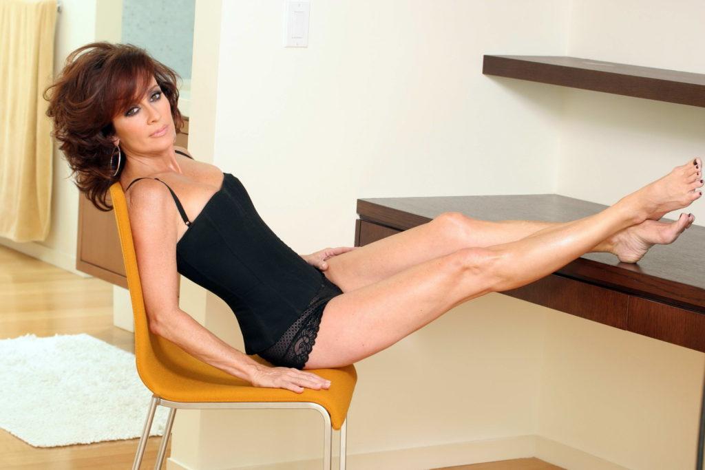 Amazing MILF Brunette