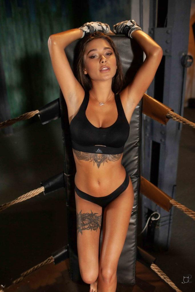 Sexy Fit Tattooed Girl