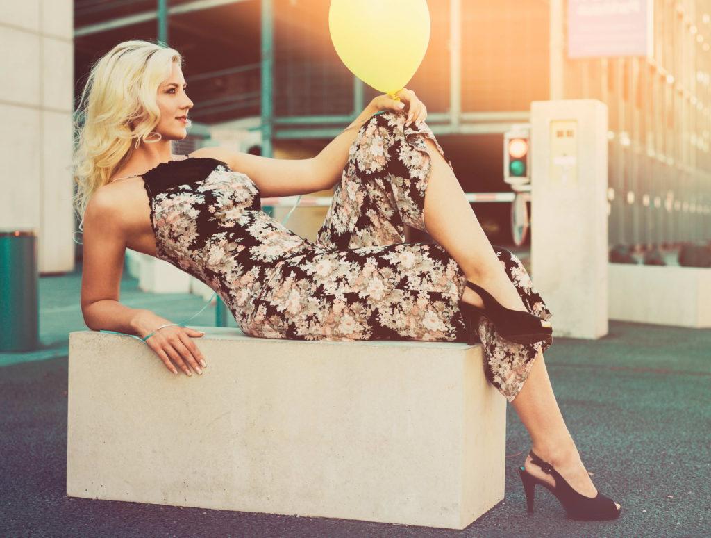 Famous Blonde Model